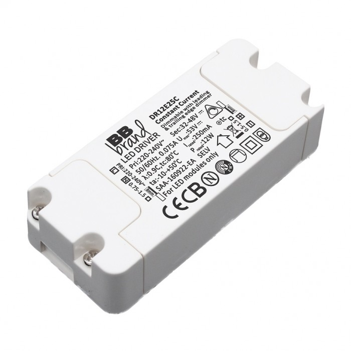 300mA 12 Watt Dimmable by Triac Constant Current LED Driver