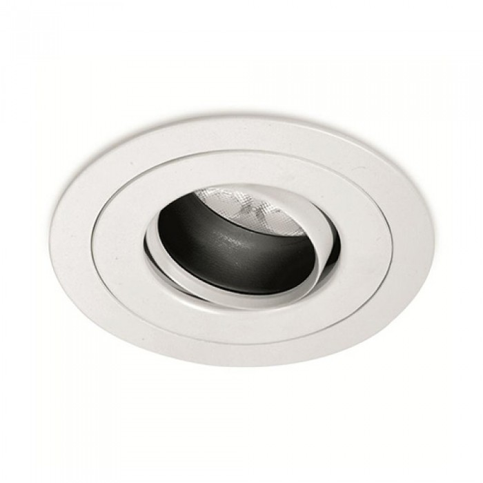 GU10 Fire Rated Fully Adjustable Anti Glare Downlight
