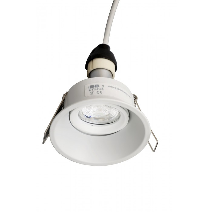 GU10 Adjustable Anti Glare Fire Rated Downlight